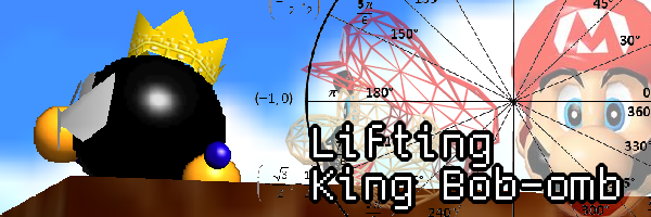 Lifting King Bob-omb